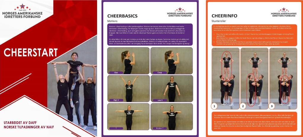 Vi introduserer: CheerStart – et nytt konsept for Cheer-Norge!